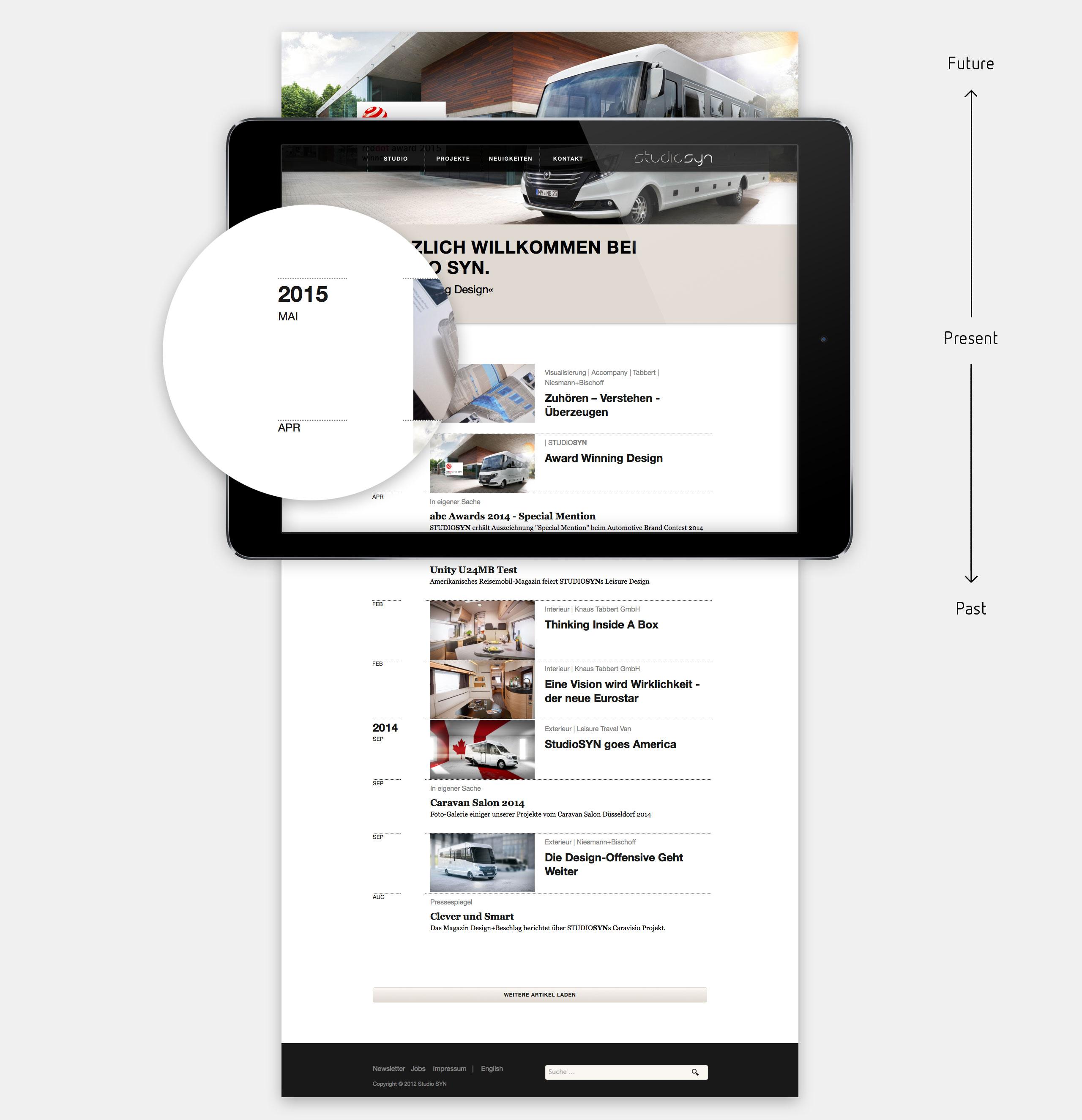Studio Syn Website